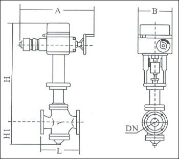 电动套筒调节阀采用平衡式阀塞结构